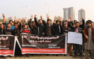 GB People protesting against the young girls expplaitations